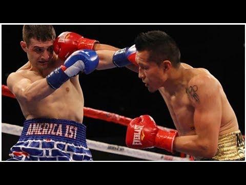 Boxeo: El 'Bandido' Vargas derrota a un estadounidense que usaba un calzoncillo a favor del muro de