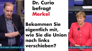 Frage an Merkel zum Polizeihassartikel in der Taz