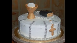 How To Make Communion Cake - Cake For Special Occasion