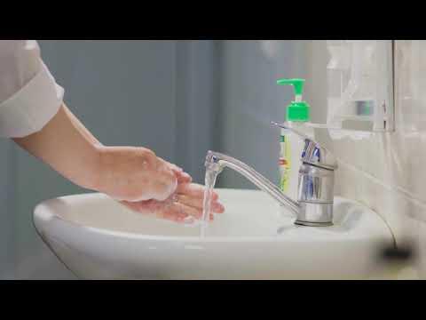 Гигиена рук медицинского персонала (видеопособие)