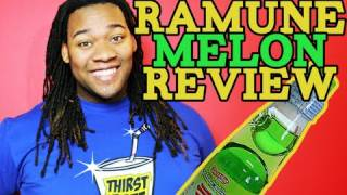 How To Open a Ramune Bottle + Ramune Melon Flavor Review for Thirstrate