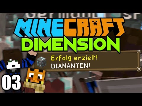 ENDLICH DIAMANTEN ☆ Minecraft DIMENSION #3