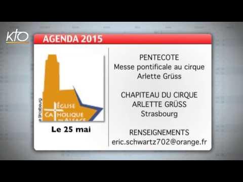 Agenda du 18 mai 2015
