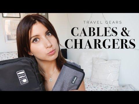 Come organizzare cavi e caricatori! #TravelGears | Serena Matcha Latte