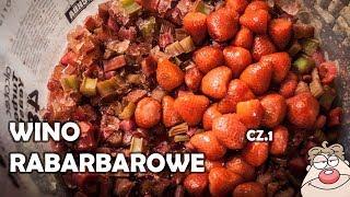 Przepis na wino z rabarbaru i truskawek wg Malinowynos.pl