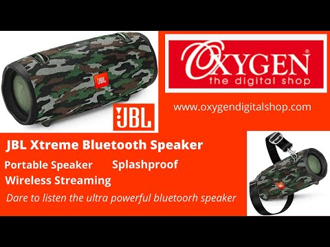 JBL Xtreme Ultra-Powerful Portable Speaker with Built-in Powerbank
