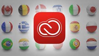 Cambiar idioma de Photoshop CC con la aplicación Creative Cloud