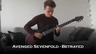 Avenged Sevenfold - Betrayed (Guitar Cover + All Solos)