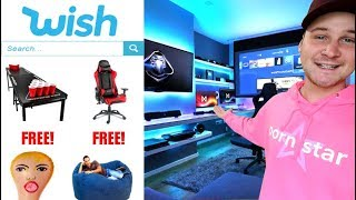 I Built The ULTIMATE Man Cave Using FREE Items From Wish!! (IS IT WORTH IIT?!)