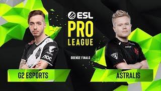CS:GO - Astralis vs. G2 Esports [Dust2] Map 1 - Group B - ESL Pro League Season 10 Finals