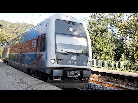 Suburban trains in the Czech Republic (small example) ⁴ᴷ