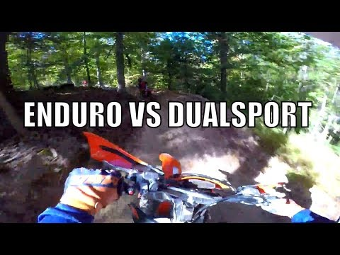 The Difference between Enduro and Dual sport Motorcycles