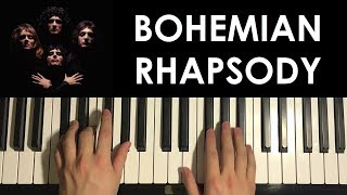 HOW TO PLAY   Bohemian Rhapsody   By Queen (Piano Tutorial Lesson) [PART 2]