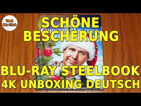 Schöne Bescherung Blu-ray Steelbook Unboxing | 4K | deutsch | Christmas Vacation