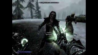 Быстрая прокачка. The Elder Scrolls V: Skyrim. Заклинание Паралич Прохождение от SAFa