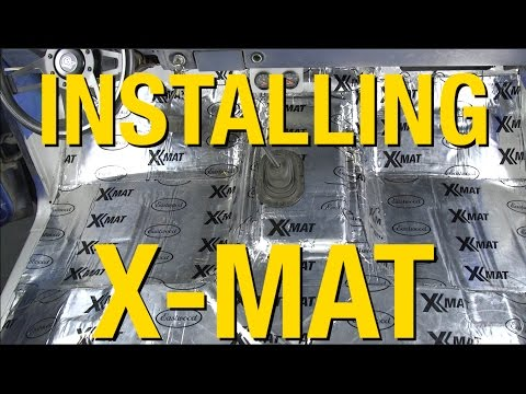 Installing X-Mat on a Ford Pickup - Sound Deadening & Heat Solutions From Eastwood