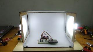 Cara Mudah Membuat Mini Studio (light Box) Versi 1
