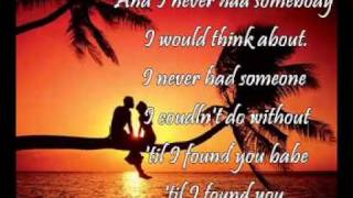Till I Found You with Lyrics (Freestyle) - OUR LOVE STORY