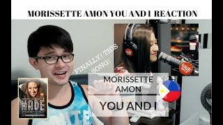 [REACTION] WOW, FINALLY! MORISSETTE AMON - YOU AND I | Wish 107.5 Bus | #JANGReacts