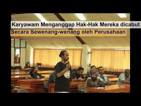 Pertemuan Antara Perwakilan Korban PHK dan Furlough Sepihak dengna K.W.I