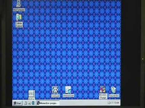 Windows on Amiga 1200 - PC TASK emulator