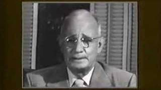 """Napoleon Hill talks about """"The Secret"""" to Think & Grow Rich"""