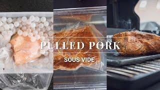 "Pulled Pork ""Sous Vide"" - die echte Alternative !!"