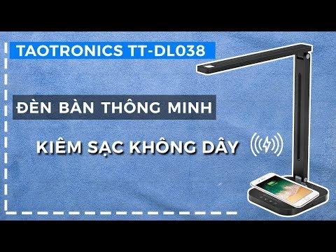 Đèn LED chống cận kiêm sạc không dây Taotronics TT-DL038