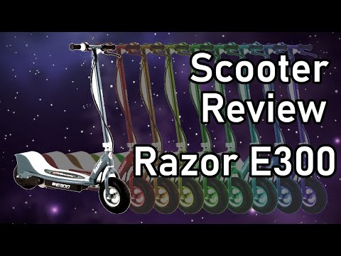 Electric Scooter - Razor E300 - Ride and Review - Scooter Episode 1