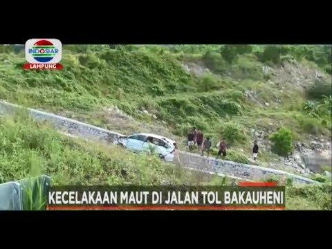 Kecelakaan maut di jalan Tol baru, Berita Indosiar Lampung 20/2/19