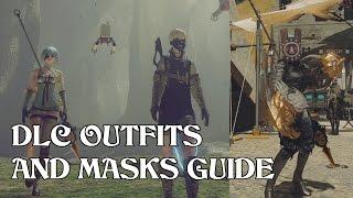NieR: Automata - DLC Outfits Guide