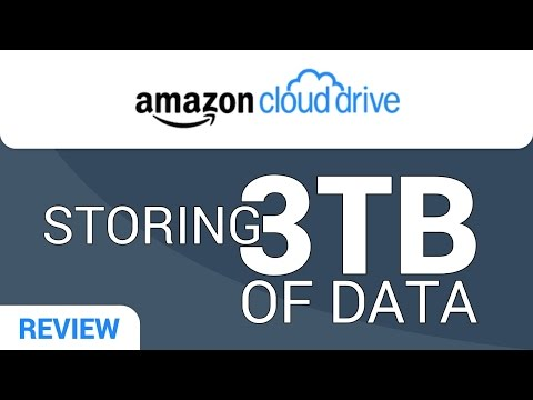 Amazon Cloud Drive Review: Storing 3TB of Data?
