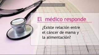 Relación entre el cáncer de mama y la alimentación