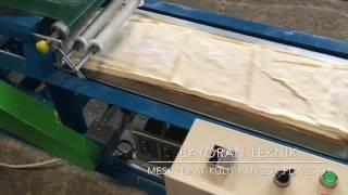 Mesin Lipat Kulit Pangsit Seri FD 955-D1, Bayoran Teknik. Cepat dan Praktis