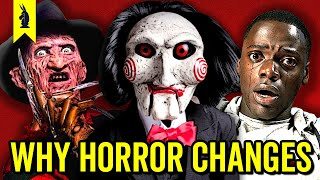 How HORROR Movies Changed – Wisecrack Edition
