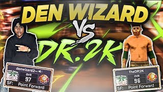 NBA 2K17 - DenWizard Vs Dr2k Gets Drop Off, He Needed To Switch D!!!