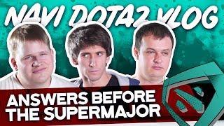 NAVI Dota2 Bootcamp VLOG. Community asks before the SuperMajor