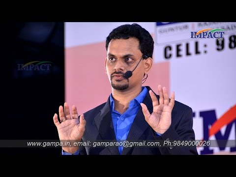 Excellence | Chandra Reddy | TELUGU IMPACT Hyd 2014
