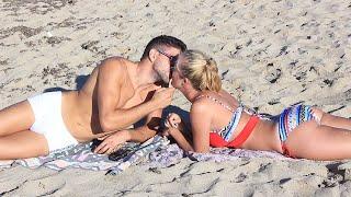 Kissing Prank - Kissing girls at Mallorca Beaches