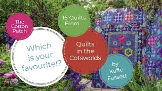 16 Quilts From Quilts In The Cotswolds By Kaffe Fassett