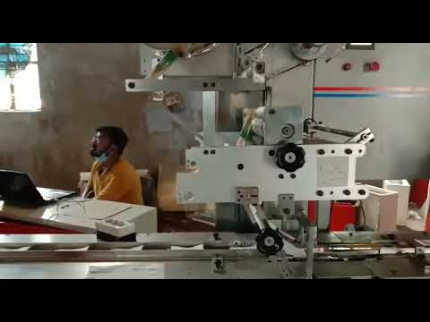 Fully Automatic 5 To 30 Pieces Wet Wipe Making Machine