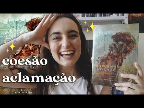 CORRENTE DE OURO (As Últimas Horas #1), de Cassandra Clare | booktalk com a Ana