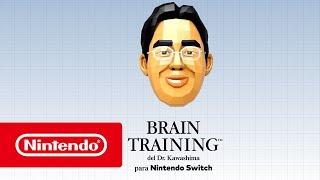 BRAIN TRAINING Del Dr Kawashima Para Nintendo Switch - Tráiler De Lanzamiento