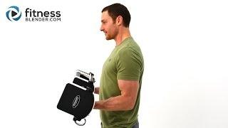 二頭肌和三頭肌超強力鍛煉 - 上半身力量練習 出處 FitnessBlender