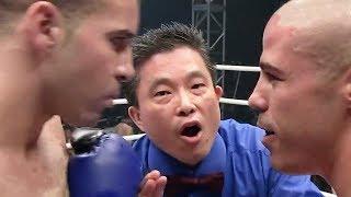 Самый зрелищный бой в истории - Бойцы обезумели / Майк Замбидис против Шахида Оулада