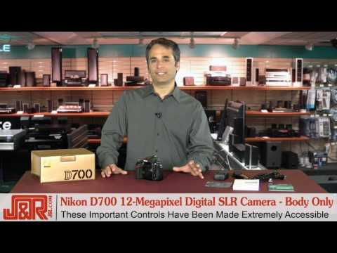 Nikon D700 12-Megapixel Digital SLR Camera - Body Only