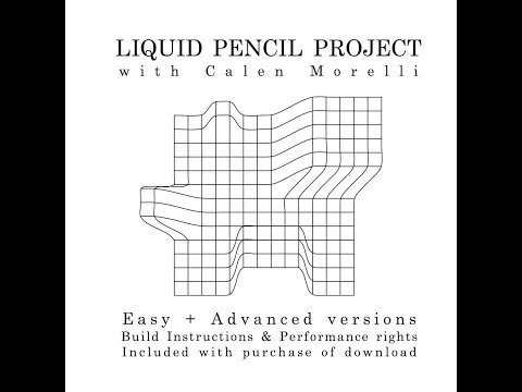 LIQUID PENCIL PROJECT by Calen Morelli