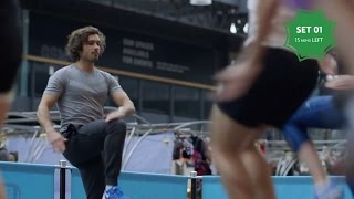 LEON & The Body Coach : Lean & Clean in 2015: Beginner HIIT Workout