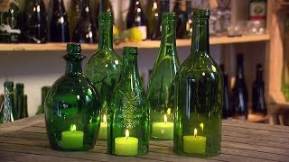 Windlichter Aus Altglas | MDR Garten