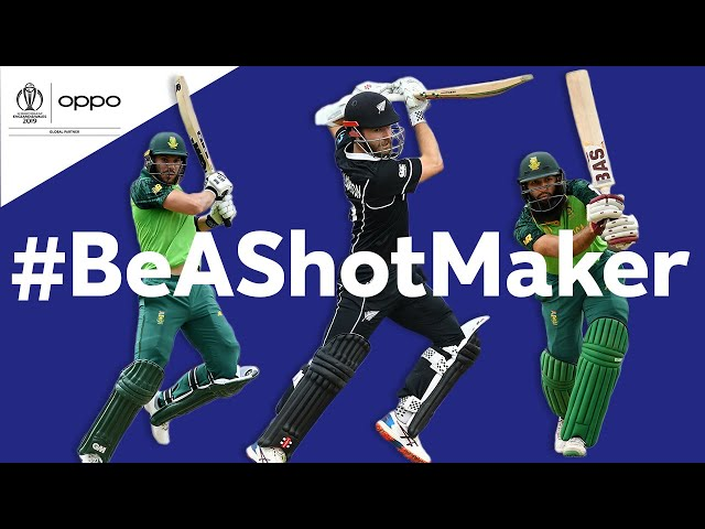 Oppo #BeAShotMaker | New Zealand vs South Africa - Shot of the Day | ICC Cricket World Cup 2019